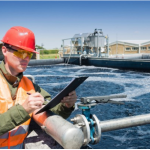 Primary effluent monitoring at a municipal wastewater treatment plant