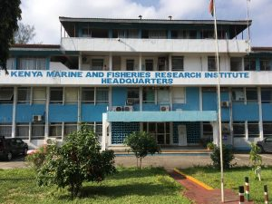 Outside the Kenya Marine Fisheries Institute