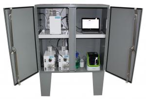 online L100 peCOD analyzer system in a cabinet