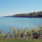 Lake Erie, sunny, beach