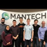Co-op students from the University of Guelph, with their supervisors and MANTECH President and CEO.