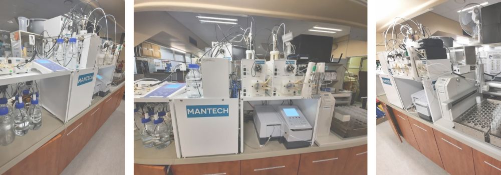 Automated Systems Relieving Workload at Municipal Laboratory