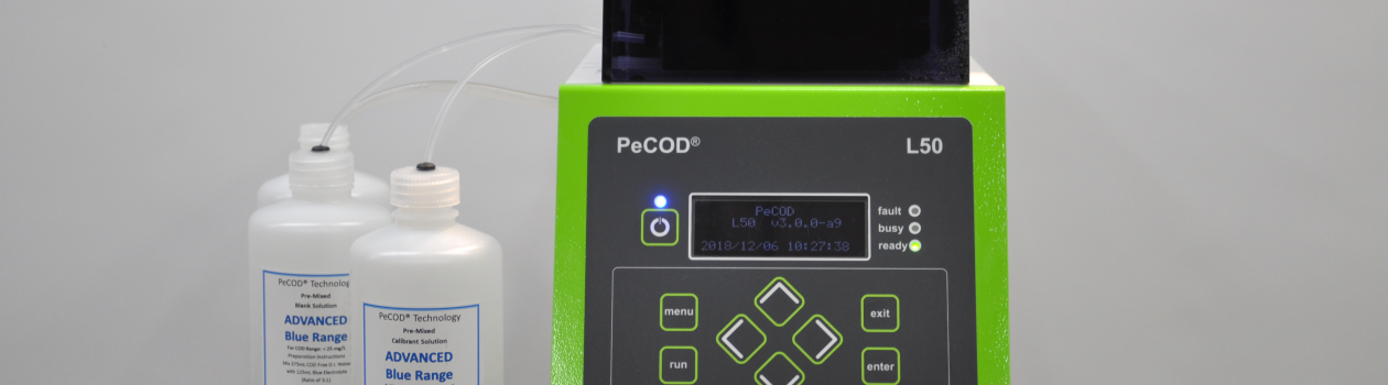 New PeCOD L50 Model: Robust, Low-Cost, Green COD