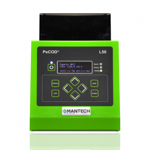 PeCOD Chemical Oxygen Demand Analyzer | MANTECH Solutions