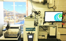 MANTECH MT-100 Installation at Faro Mine Remediation in Yukon Territories Canada