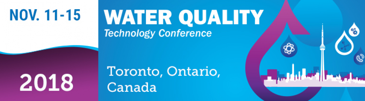 WQTC 2018 – Educational Session on peCOD Drinking Water Applications at MANTECH Booth 316